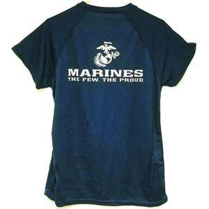 Marines Pullover Unisex Shirt Military Blue Dark